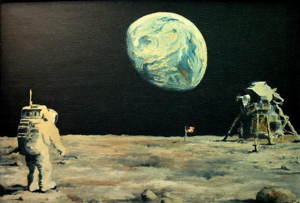 Apollo 11 - Painting